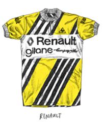 renault gitane jersey