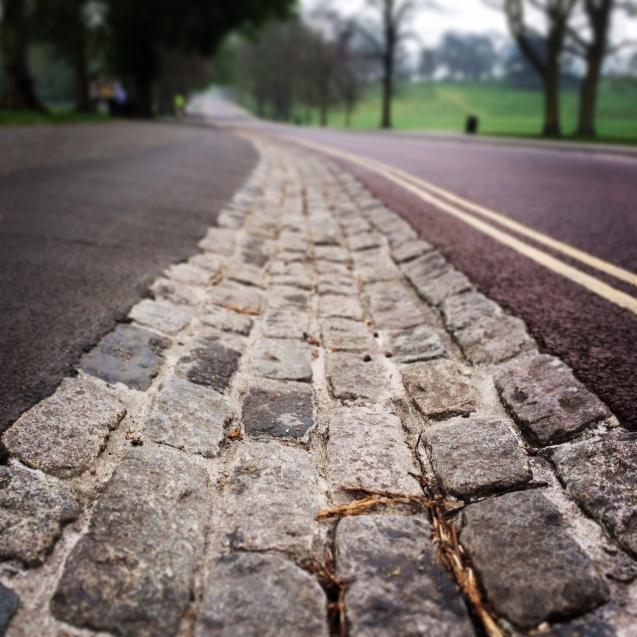 Greenwich park cobbles