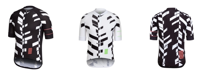 Pro Team Short Sleeve Jersey Data Print 3